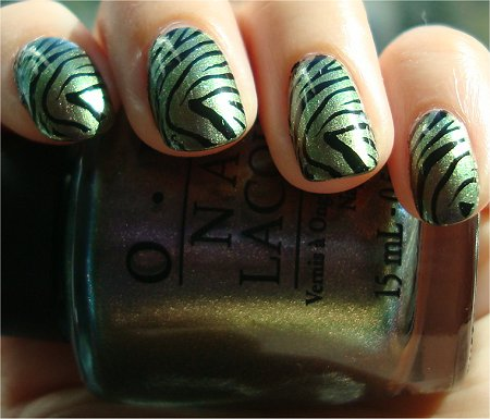 Sunlight OPI Not Like the Movies Review & Swatch Katy Perry Collection