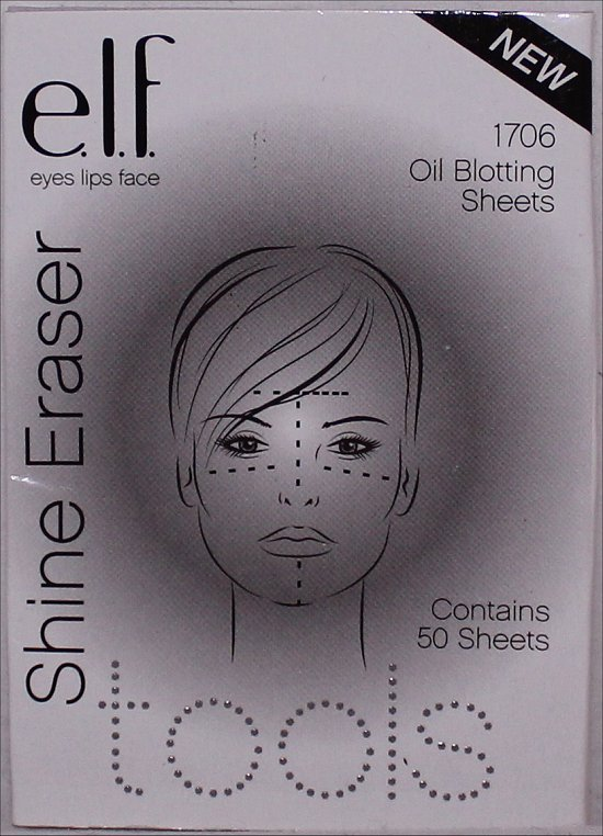 elf Shine Eraser Oil Blotting Sheets Review & Pictures