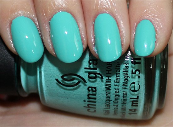 Aquadelic China Glaze Swatches & Review ElectroPop Collection