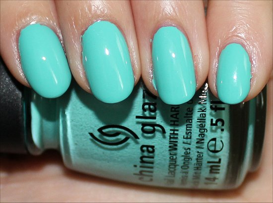 Aquadelic ElectroPop China Glaze Swatches & Review