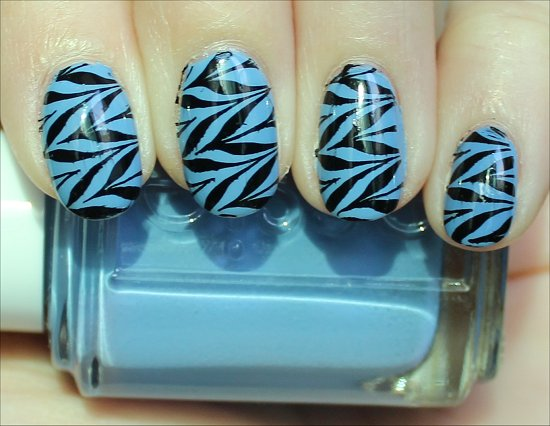 Blue & Black Konadicure Konad Image Plate m78 Pictures & Review
