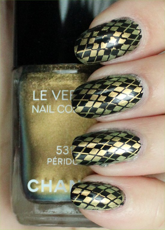 Chanel Peridot Argyle Konadicure Swatches & Pictures
