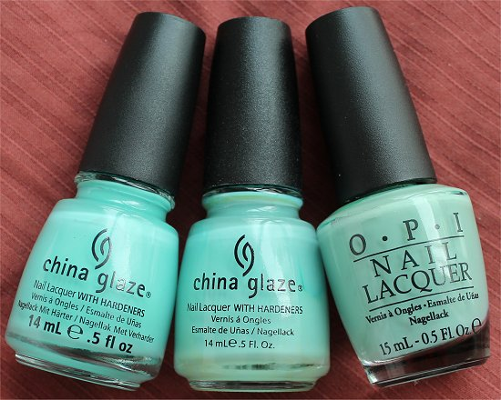 China Glaze Aquadelic China Glaze For Audrey OPI Mermaids Tears