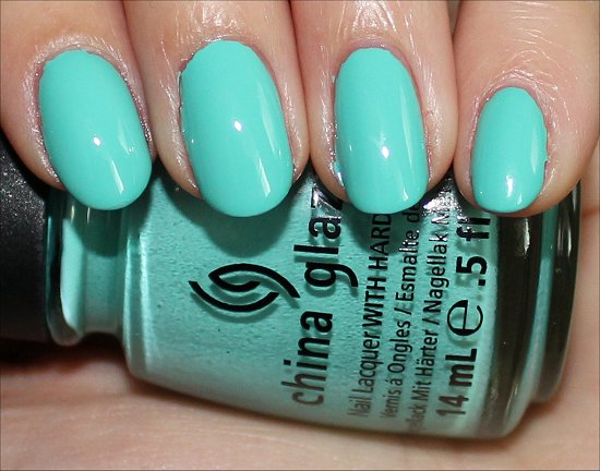 China Glaze Aquadelic ElectroPop Collection Swatches & Review