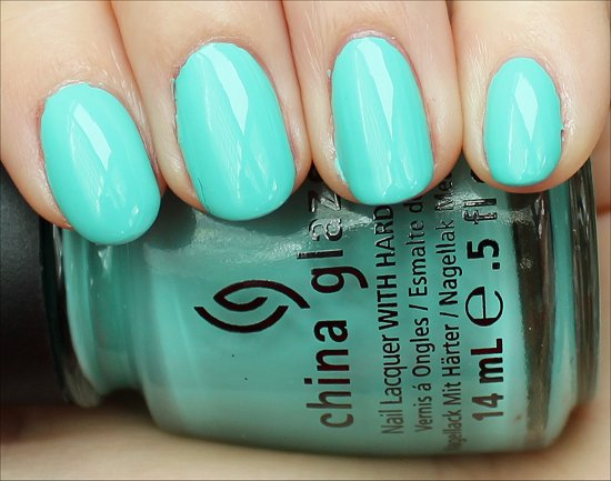 China Glaze Aquadelic Review & Swatch