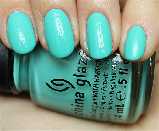 China Glaze Aquadelic Swatch, Review & Pictures
