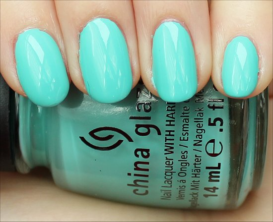 China Glaze Aquadelic Swatch & Review