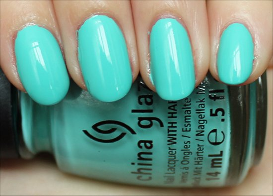 China Glaze Aquadelic Swatches, Review & Pics