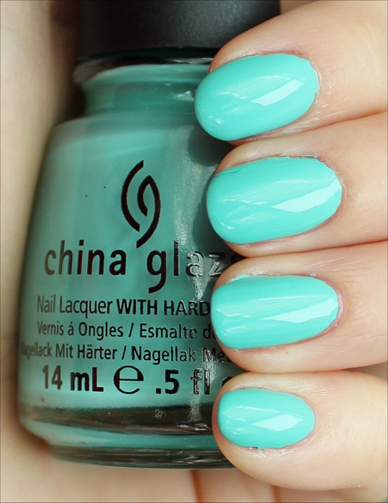 China Glaze Aquadelic Swatches & Review