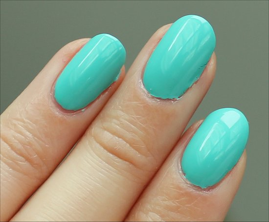 China Glaze ElectroPop Collection Aquadelic Swatch & Review