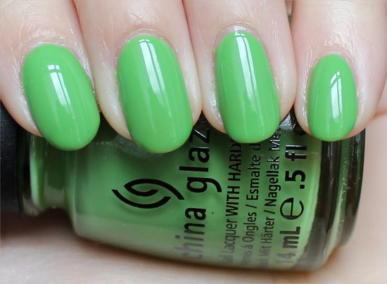 China Glaze Gaga For Green ElectroPop Collection Review & Swatches