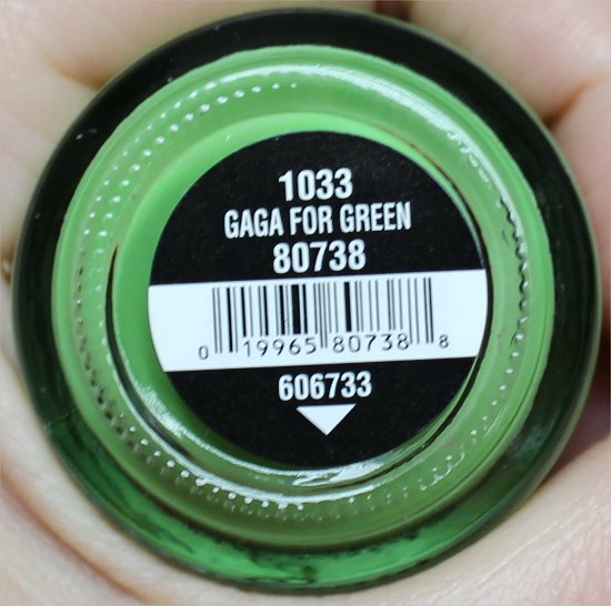 China Glaze Gaga For Green ElectroPop Collection Swatches & Review