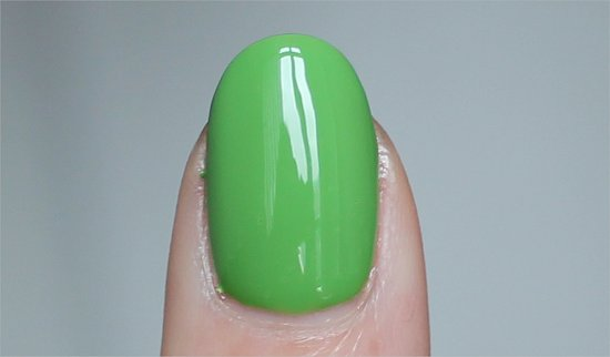China Glaze Gaga For Green Swatches & Pictures