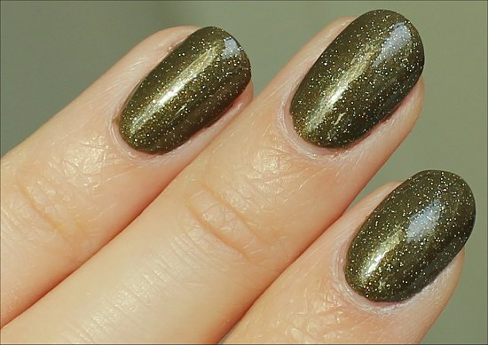 China Glaze Golden Enchantment Review, Swatch & Pictures