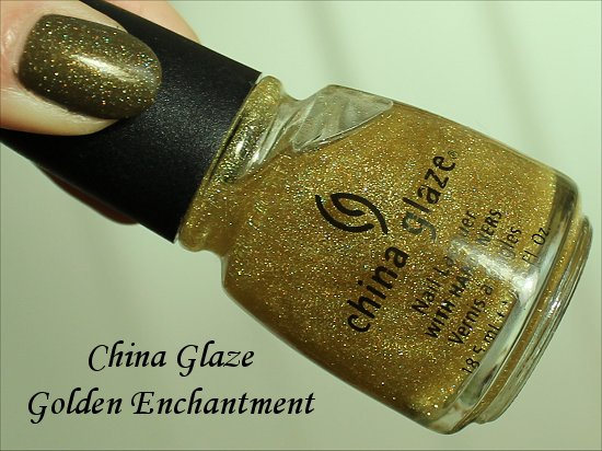 China Glaze Golden Enchantment Review & Swatch