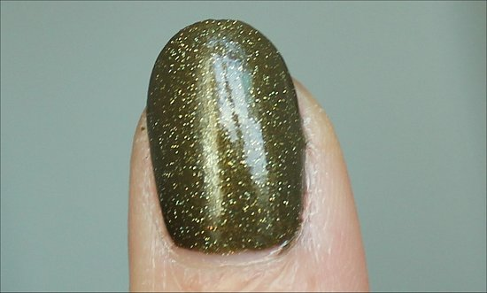 China Glaze Golden Enchantment Swatch & Review
