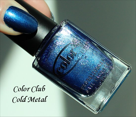 Cold Metal Color Club Swatch & Review