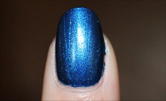 Color Club Cold Metal Swatch & Review
