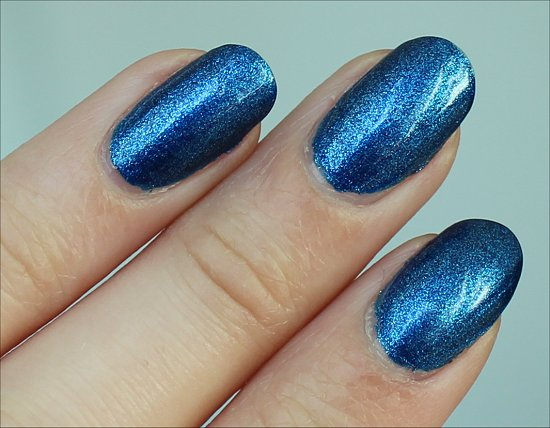 Color Club Cold Metal Swatches & Review