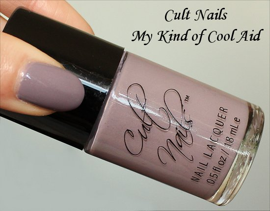 Cult Nails My Kind of Cool Aid Review, Swatch & Bottle Pictures