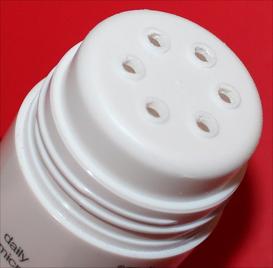 Dermalogica Microfoliant February 2012 Loose Button Luxe Box Review & Pics