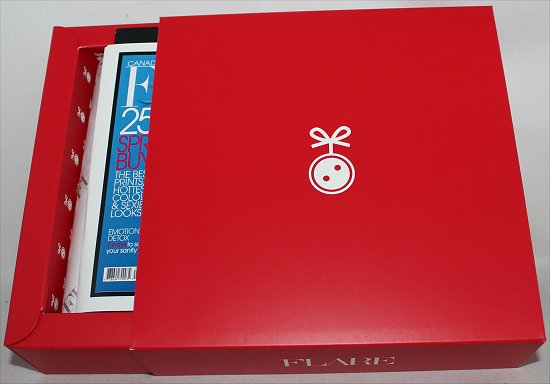 February 2012 LooseButton LuxeBox Review & Pictures