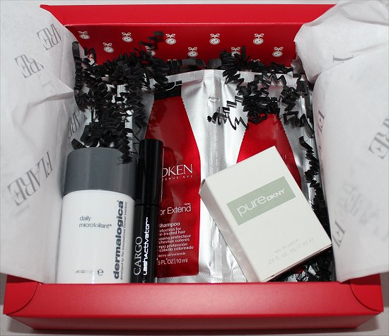 February 2012 Luxe Box Review & Pictures