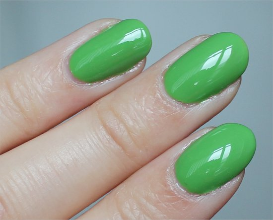 Gaga For Green China Glaze Review & Swatches