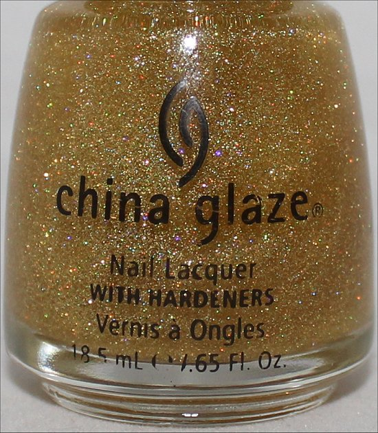 Golden Enchantment China Glaze Review, Swatches & Pictures