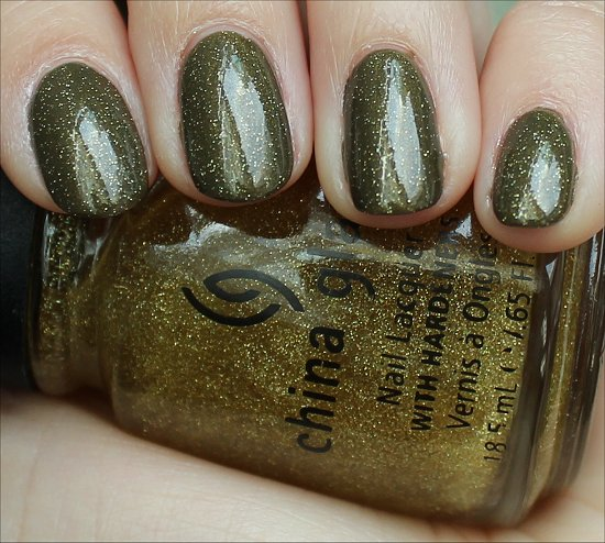Golden Enchantment China Glaze Swatches & Reviews