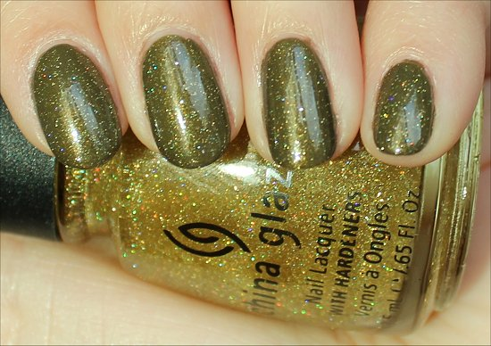 Golden Enchantment by China Glaze Swatches & Review