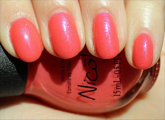 Great Minds Pink Alike Nicole by OPI Swatch & Review