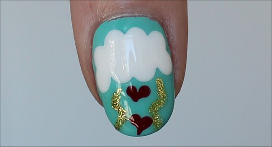 Heart Nails Nail Art Valentine's Day Nails Tutorial