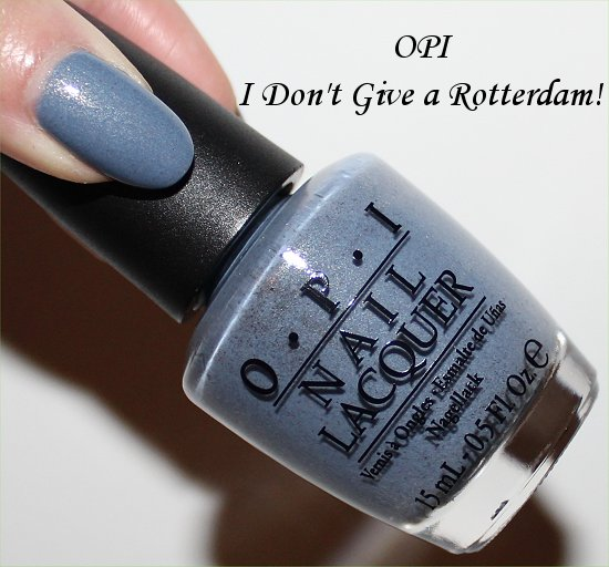 I Don't Give a Rotterdam OPI Swatches, Review & Pictures