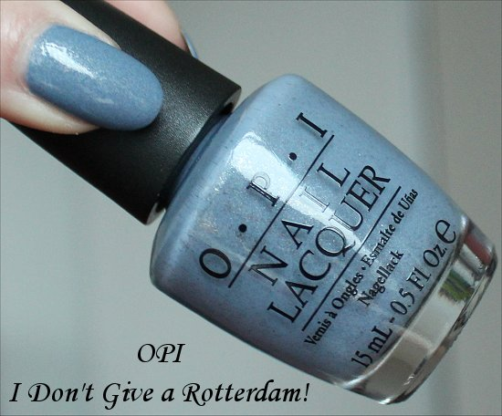 I Dont Give a Rotterdam OPI Swatches, Review & Pictures