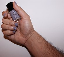 Men Wearing Nail Polish