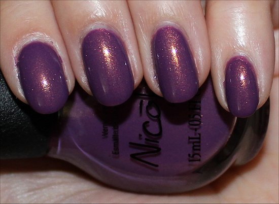 NOPI Purple Yourself Together Swatch & Review