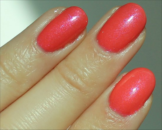 Nicole by OPI Great Minds Pink Alike Review, Swatch & Pics