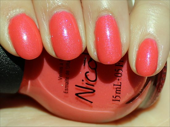 Nicole by OPI Great Minds Pink Alike Review & Swatches