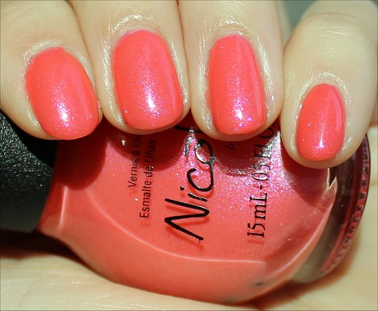 Nicole by OPI Great Minds Pink Alike Swatch & Review