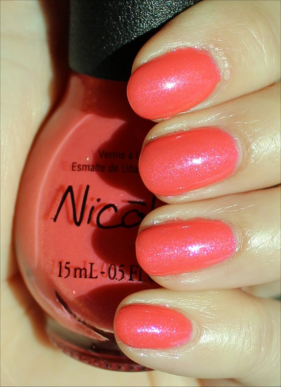 Nicole by OPI Great Minds Pink Alike Swatches & Review