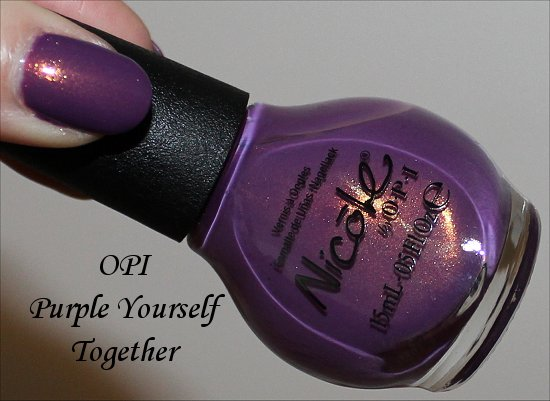 Nicole by OPI Purple Yourself Together Review, Pics & Swatches