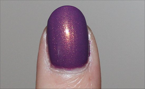 Nicole by OPI Purple Yourself Together Review, Swatch & Pics