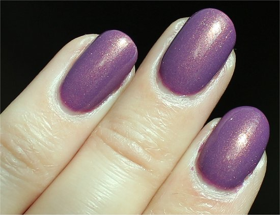 Nicole by OPI Purple Yourself Together Review & Swatch