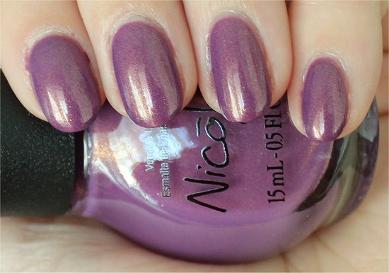 Nicole by OPI Purple Yourself Together Shoppers Drug Mart Exclusive Swatches & Review
