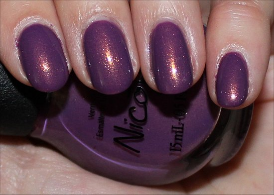 Nicole by OPI Purple Yourself Together Swatch & Review
