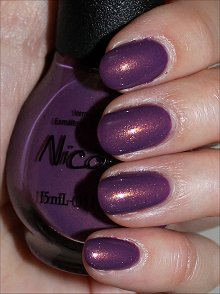 Nicole by OPI Purple Yourself Together Swatches & Review