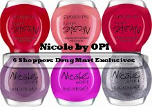 Nicole by OPI Shoppers Drug Mart Exclusives Press Release & Promo Pictures smaller