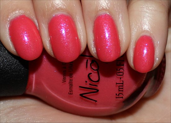 Nicole by OPI Shoppers Drug Mart Great Minds Pink Alike Swatch & Review