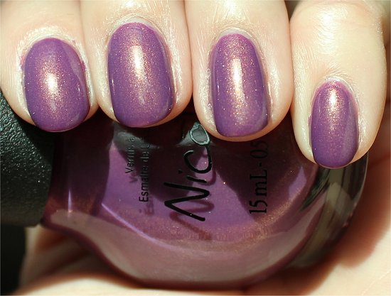 Nicole by OPI Swatches & Review Purple Yourself Together
